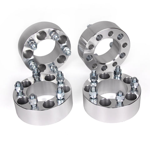 "AURELIO TECH 2"" 50mm 5x4.5 to 5x4.5 Wheel Spacers Adapters 5 Lug 5x114.3 1/2"" Studs"