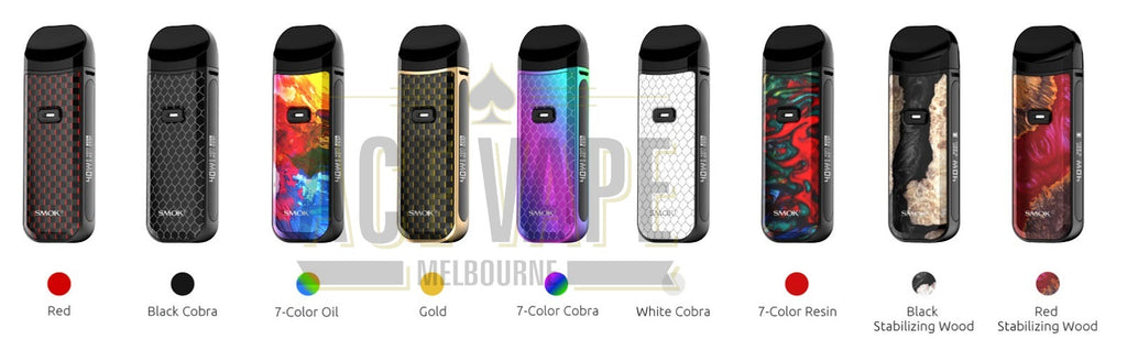 Ace Vape Melbourne - SMOK Nord 2 Colours