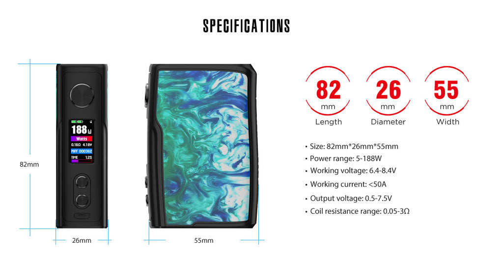 Vandy Vape Swell specification