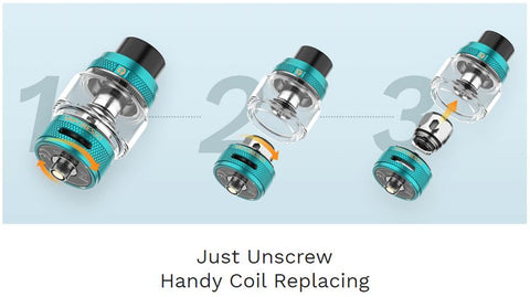 Vaporesso NRG-S Tank 8ML - How to replace the coil | Ace Vape Melbourne