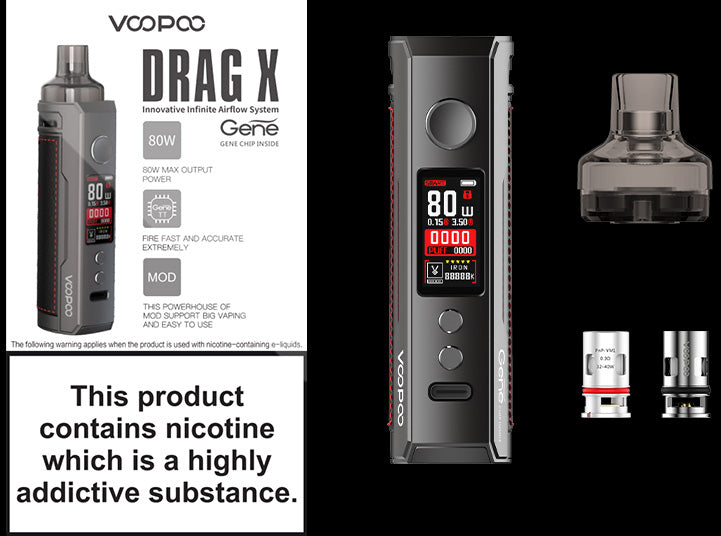 Drag X specification