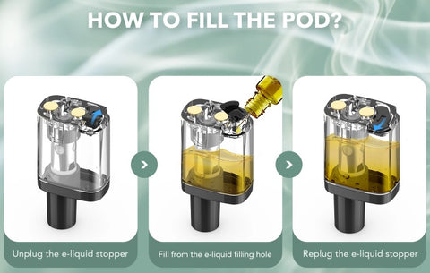 How to fill up Vladdin pod