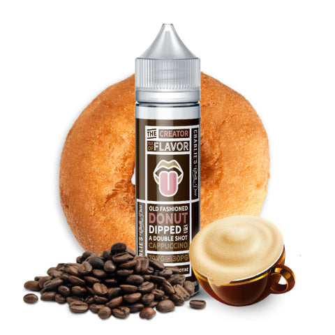 Donut Coffee (100ml) by Charlies Chalk Dust, JUICES - US, Charlie's Chalk Dust - Ace Vape Melbourne