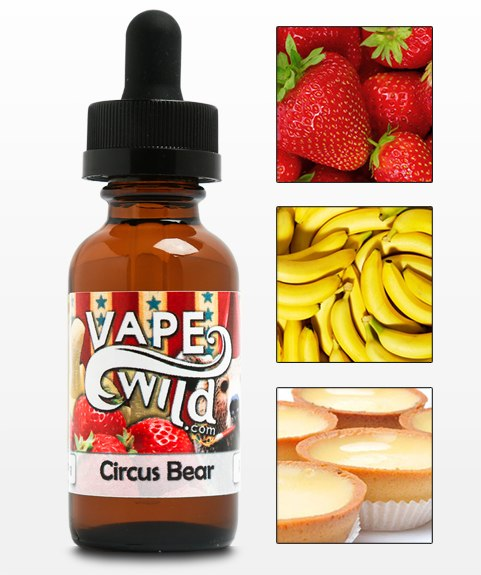 CIRCUS BEAR, JUICES - US, VAPEWILD - Ace Vape Melbourne