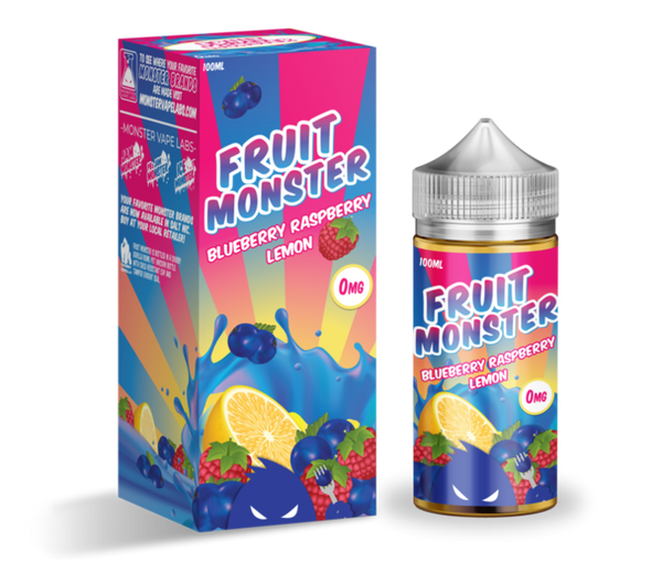 BLUEBERRY RASPBERRY LEMON BY FRUIT MONSTER, JUICES - US, JAM MONSTER - Ace Vape Melbourne