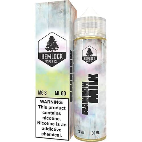 RAINBOW MILK BY HEMLOCK VAPOR CO, JUICES - US, HEMLOCK VAPOR CO - Ace Vape Melbourne