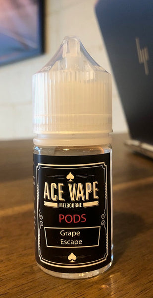 GRAPE ESCAPE - PODS, JUICES, Ace Vape Pods - Ace Vape Melbourne