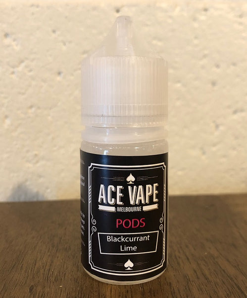 BLACKCURRANT LIME - PODS, JUICES, Ace Vape Pods - Ace Vape Melbourne