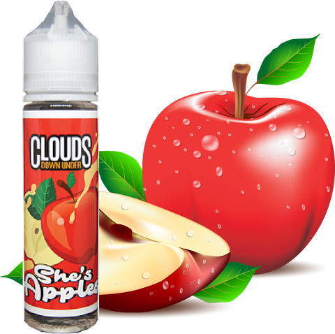 She's Apples by Clouds Down Under, JUICES, Clouds Down Under - Ace Vape Melbourne