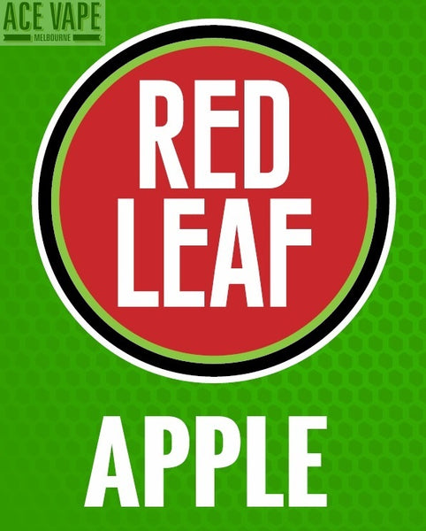 Apple by Red Leaf, JUICES, Red Leaf - Ace Vape Melbourne