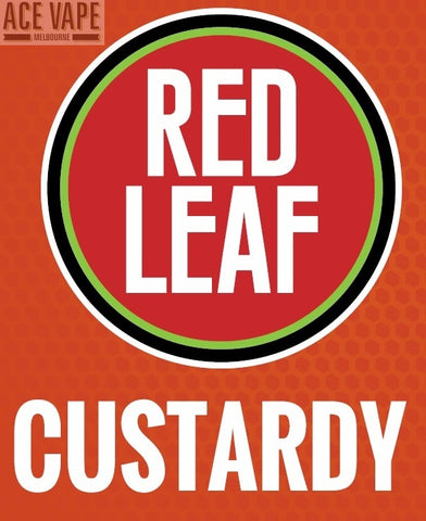 Custardy by Red Leaf, JUICES, Red Leaf - Ace Vape Melbourne