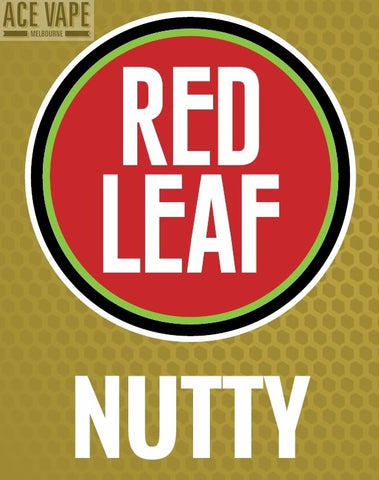 Nutty by Red Leaf, JUICES, Red Leaf - Ace Vape Melbourne