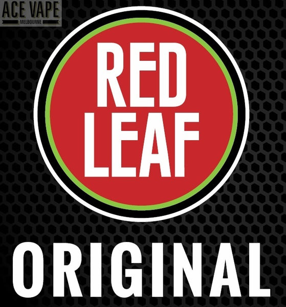 RED LEAF, JUICES, Red Leaf - Ace Vape Melbourne