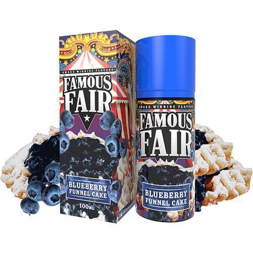 BLUEBERRY FUNNEL CAKE (100ML) BY FAMOUS FAIR ELIQUID, JUICES - US, Famous Fair - Ace Vape Melbourne