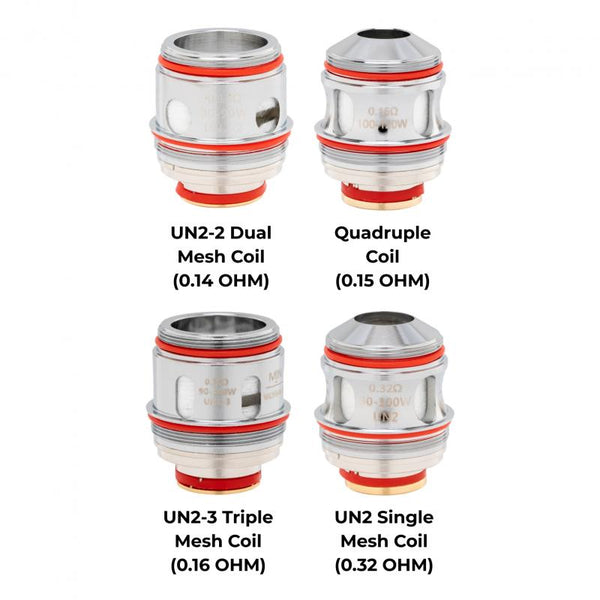 Replacement Coils for the Uwell Valyrian Ⅱ (2pk), Coils, Uwell - Ace Vape Melbourne