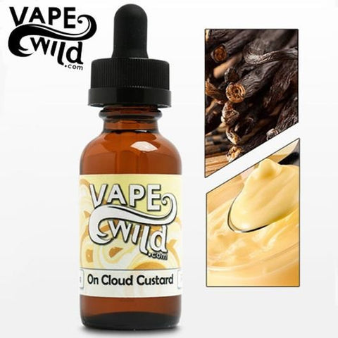 On Cloud Custards by Vape Wild - Ace Vape