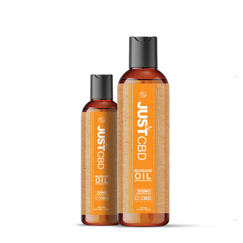 JustCBD Massage Oil