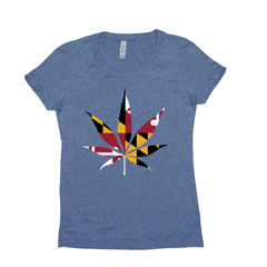 Women's T-Shirt: Maryland Legalized It