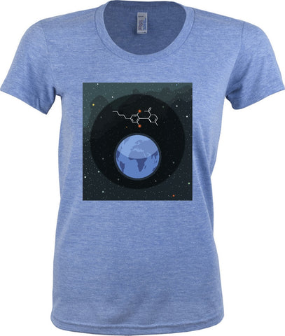 Women's Molecular Constellation T-shirt