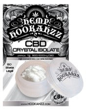 Hemp Hookahzz CBD Powder CBD Isolate