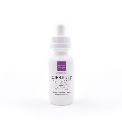 Mary's Whole Pet Regular Whole Pet Drops (300mg)