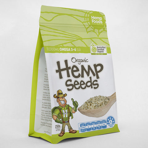 Hemp Seeds 8oz