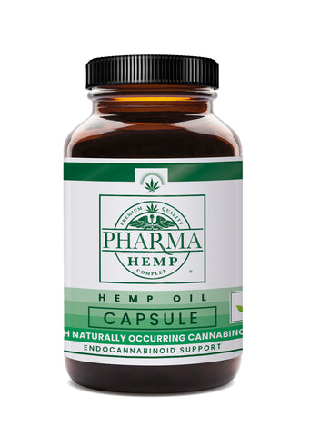 Pharma Hemp CBD Oil Capsules (25mg)