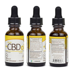 Plus CBD Oil Concentrated CBD Hemp Drops