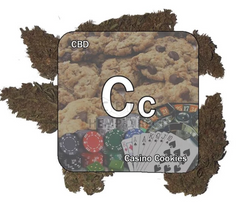 Casino Cookies CBD Hemp Flower (21.8% CBD)