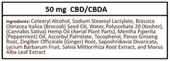 Plus CBD Oil Balm Original formula - Ingredients