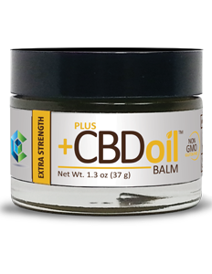 Plus CBD Hemp Oil Balm - Extra Strength