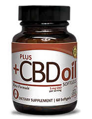Plus CBD Oil RAW Formula Softgels