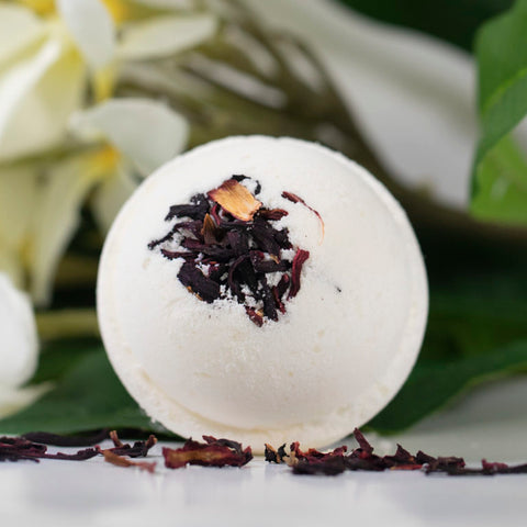 CBD Bath Bomb – Awake 100mg CBD with Jasmine & Bali Flower