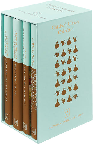 Childrens Classics Collection 4 Books Box Set (Anne of Green Gables, Best Fairy Tales, The Secret Garden, Alice's Adventures in Wonderland) - Children Store Co.