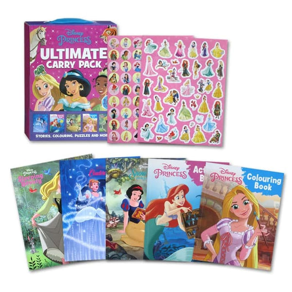 Girls Disney Princess ULTIMATE CARRY PACK Autumn 2018 Paperback NEW!!!! - Children Store Co.