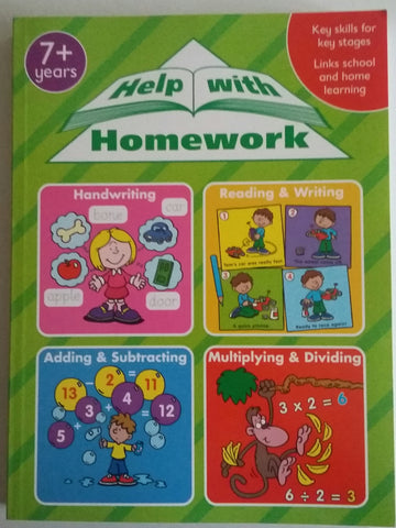 Help with Homework 7+ (bumper workbook) - Children Store Co.