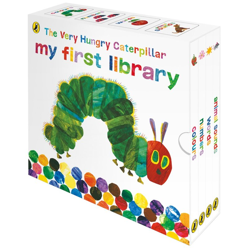 The Very Hungry Caterpillar my first library - Children Store Co.