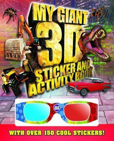 Giant 3D Sticker and Activity Book by Igloo Books Ltd (Paperback, 2012) - Children Store Co.