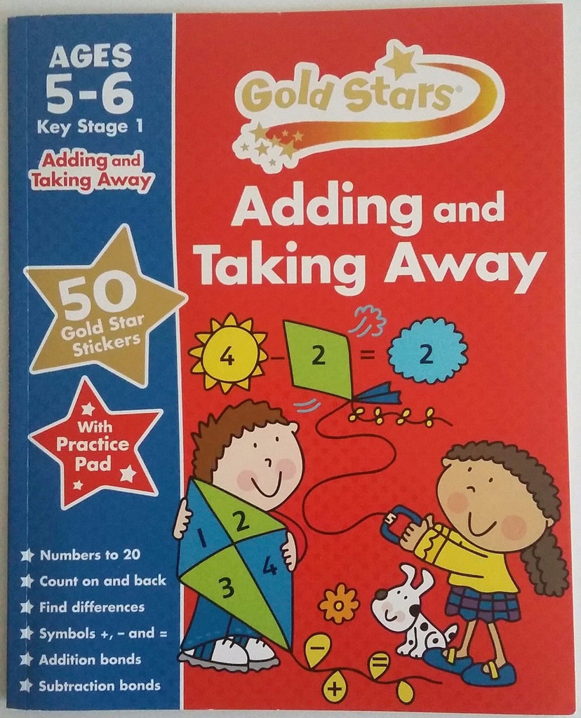 Goldstsas Adding and Taking away Ages 5-6 - Children Store Co.