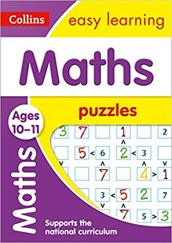 Collins Maths Puzzles KS2 Ages 10-11 New!!!!! - Children Store Co.