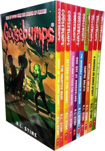 Goosebumps Horrorland Series 10 Books Collection Set by R.L.Stine Brand New!!! - Children Store Co.