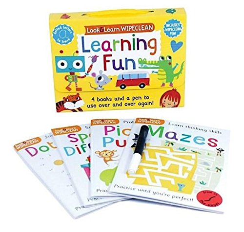 Nursery / Reception Kids Look and learn wipe clean Learning Pack Ages 3+ - Children Store Co.