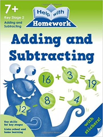 Help with Homework Adding and Subtracting Ages 7+ KS2 - Children Store Co.