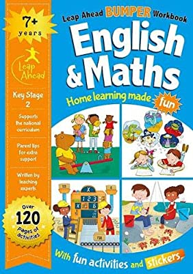 Leap ahead Maths and English Bumper Workbook KS2 Ages 7-9 - Children Store Co.