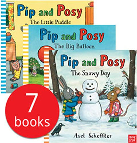 Kids / Children Pip & Posy 7 books collection Paperback Ages 2+ New!!! - Children Store Co.