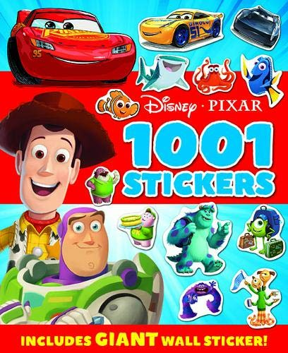 Disney Pixar 1001 Stickers Includes GIANT Wall Sticker - Children Store Co.