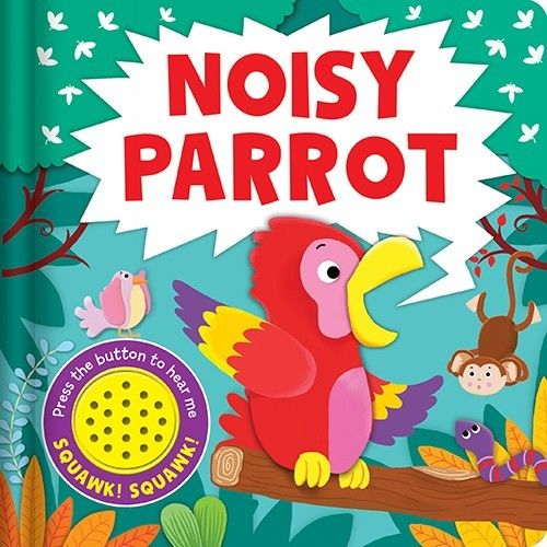 Baby/kids Noisy Parrot Sound book NEW!!! - Children Store Co.