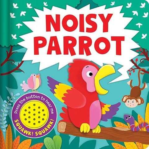 Baby/kids Noisy Parrot Sound book NEW!!!