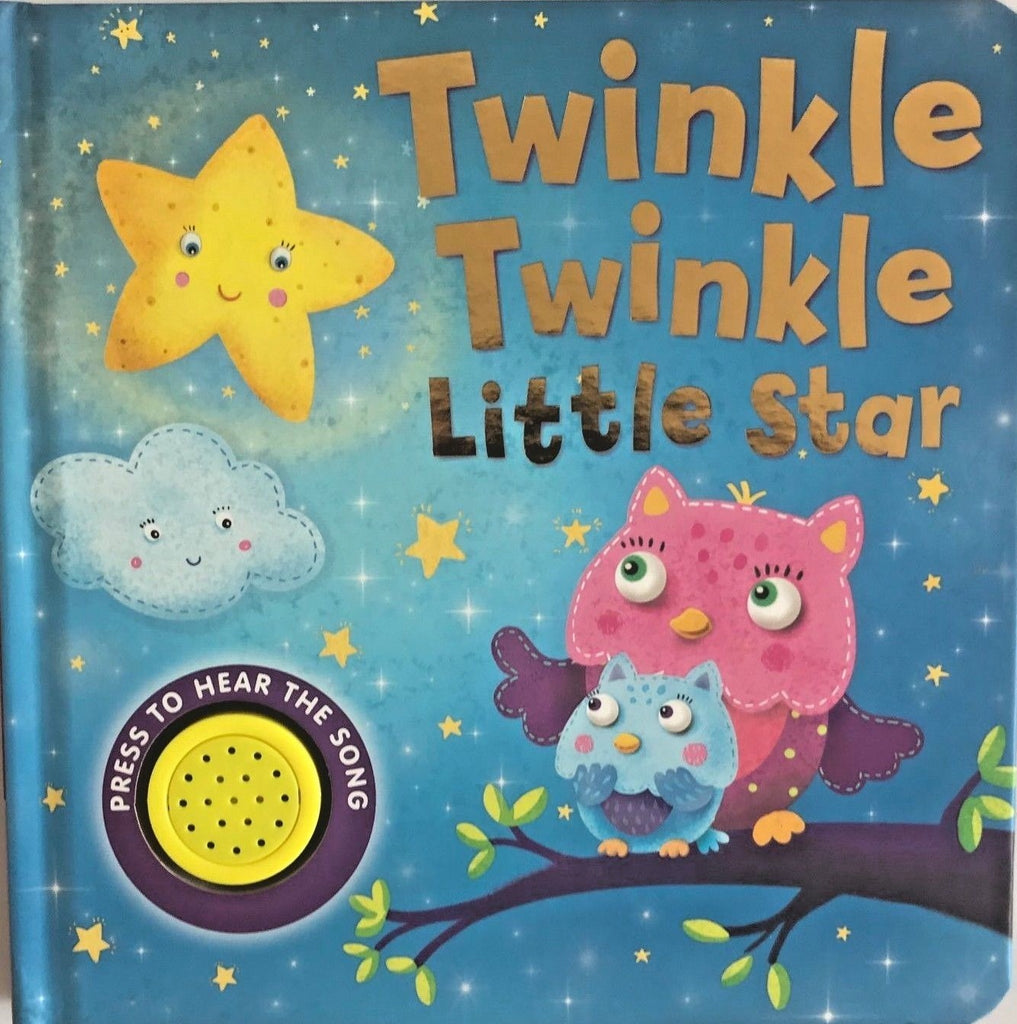 Kids/Baby sound book TWINKLE, TWINKLE, LITTLE STAR by little baby bum