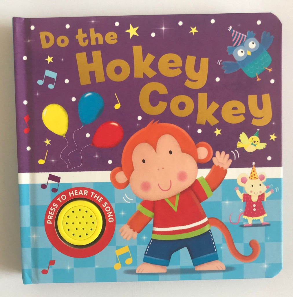 Baby/kids Do the Hokey Cokey Sound book NEW!!!!